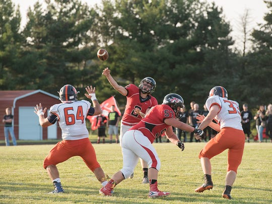 Ben Seibert and the Redmen will look to bounce back