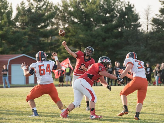 Ben Seibert and the Redmen will look to bounce back against Pleasant this week.