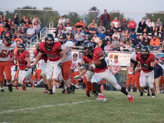 Harley Robinson will look to bounce back after his 73 yards of total offense and a fumble against Galion in week one, assuming he's healthy.