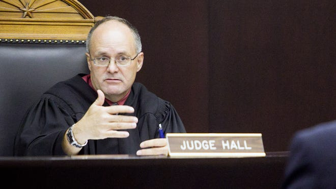 Arizona Court of Appeals Judges Philip Hall, seen here, and Jon W. Thompson filed suit to roll back the increase, arguing that their pension contributions were locked in by contract at a lower rate. They sued on behalf of themselves and others who were on the bench before July 20, 2011, when the pension-reform law went into effect. Hall has since retired.
