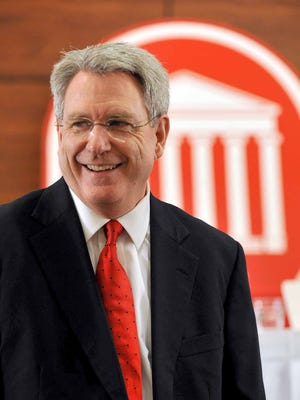 Chancellor of the University of Mississippi Dr. Dan Jones.