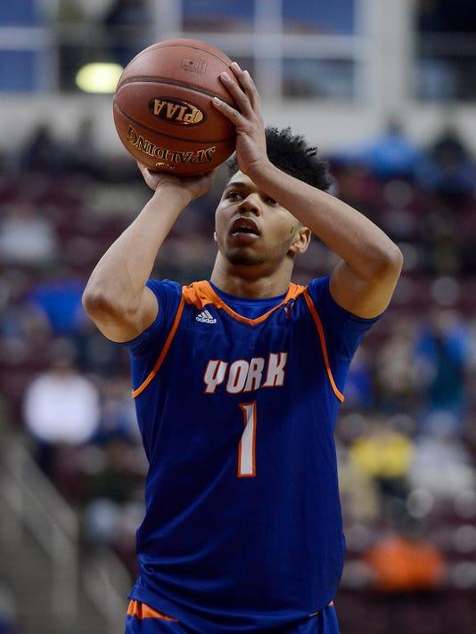 Northeastern vs York High District 3 boys' basketball