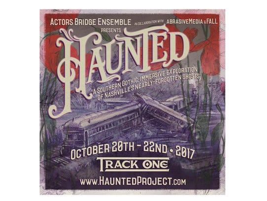 The HAUNTED poster.