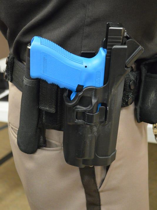 Citizens Academy gun