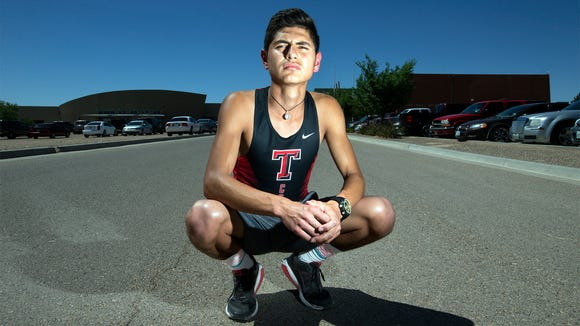 Tornillo High School senior Daniel Amaya has won two cross country meets to start the 2017 season.