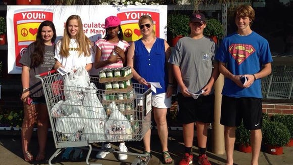 Youth can make a difference – Feeding the needy