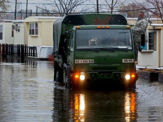 Member Exchange Coast Guard Superstorm Sandy (2)