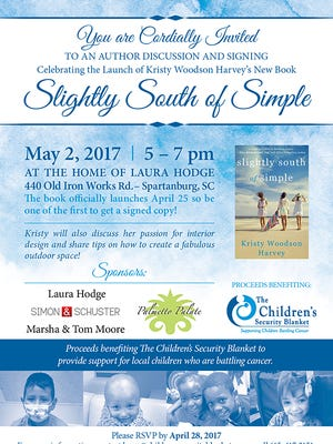 Book signing event to benefit The Children's Security Blanket