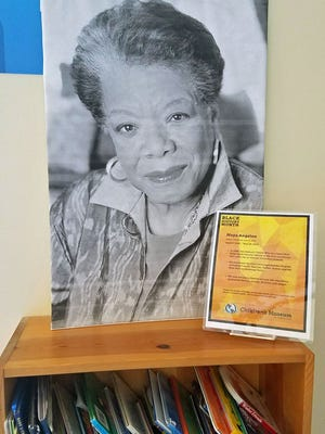 Families are invited to visit the Children's Museum to learn about influential people such as Maya Angelou and many others throughout the exhibit space in a celebration of Black History Month through Feb. 28.
