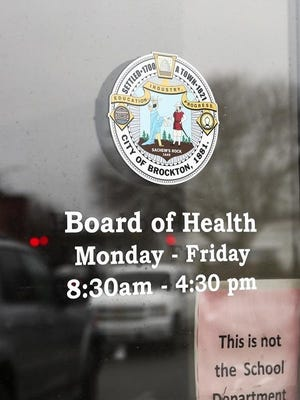 The Brockton Board of Health office on Crescent Street in December 2019.