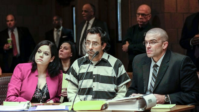 An Eaton County courtroom will be closed to the public in June when two women and a teenage girl are expected to testify that Larry Nassar sexually assaulted them during medical appointments, a judge ruled Friday, April 14, 2017.