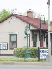 The Magnolia Train Station serves as the home of the