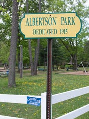 Albertson Park in Magnolia.