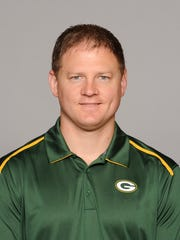 The Packers have promoted offensive quality control assistant Luke Getsy to receivers coach.
