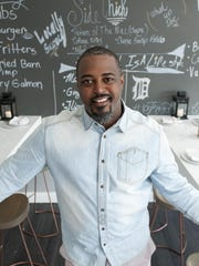 Chef Maxcel Hardy opened his new restaurant, River Bistro, in Detroit in 2017.
