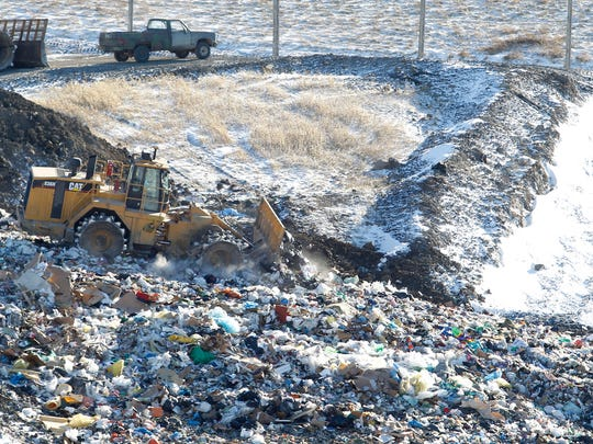 "The Black Hawk County Landfill in Waterloo just opened 17 acres of space with a new ""cell."" The old cell was full, causing the landfill to shut down on windy days when trash would blow off the top. The $5 million expansion at the Black Hawk County Landfill should reduce those closures, which have led to delays in garbage pickups."