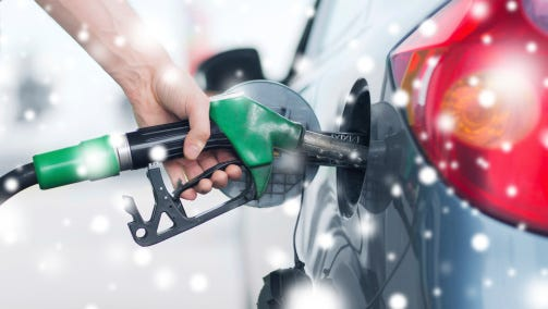 Average retail gasoline prices in Nashville have risen 9.7 cents per gallon in the past week, averaging $2.11 per gallon Sunday, according to GasBuddy's daily survey of 596 gas outlets in Nashville.