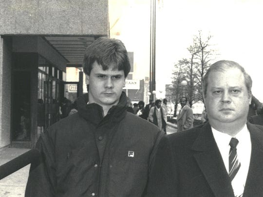 Rick Wershe Jr. with his lawyer William Bufalino II