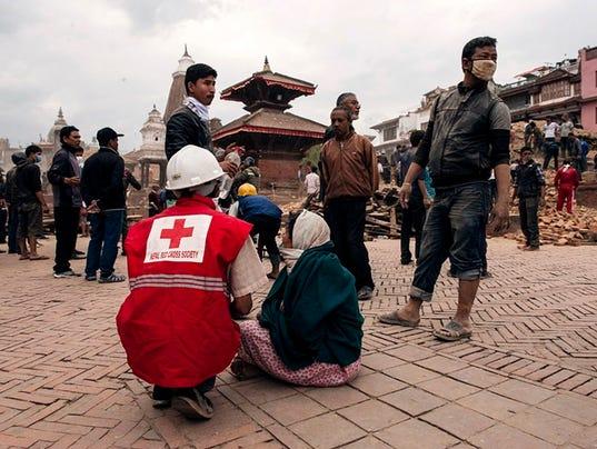 EPA NEPAL EARTHQUAKE AFTERMATH DIS EARTHQUAKE NPL