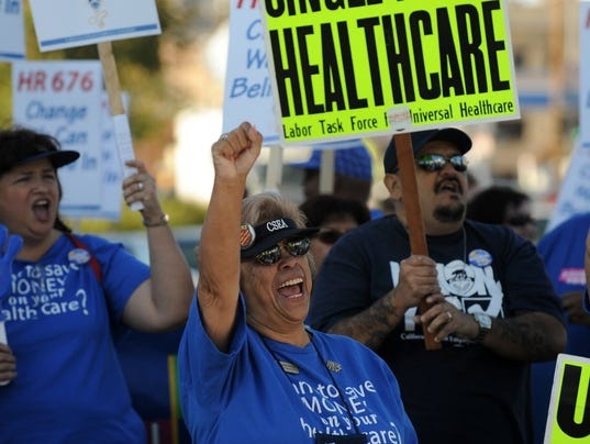 AFP US-HEALTH CARE-RALLY A SOI USA CA
