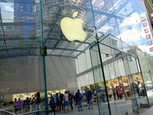 Apple under fire for treatment of women