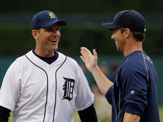 Jim Harbaugh, Brad Ausmus