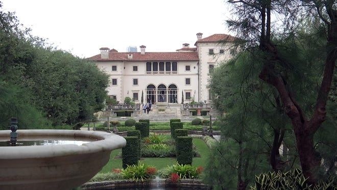Vizcaya Museum and Gardens, originally the estate of agricultural industrialist James Deering, is located in Miami.