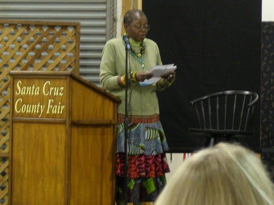 Rachel Clark hosts a fashion show at PVQA 2014