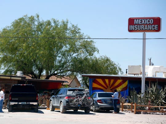 Why Not Travel Store in Ajo provides travelers with snacks, gas, restrooms, and Mexican insurance.