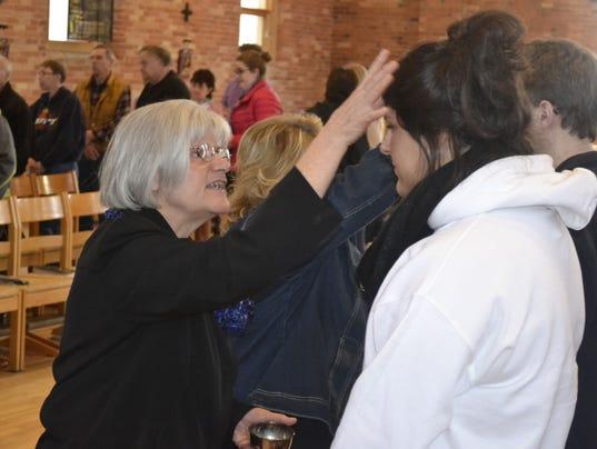 -GPG BELIEFS Ash Wednesday at St. Norbert College church 2-18-15 photo 3.jpg.jpg