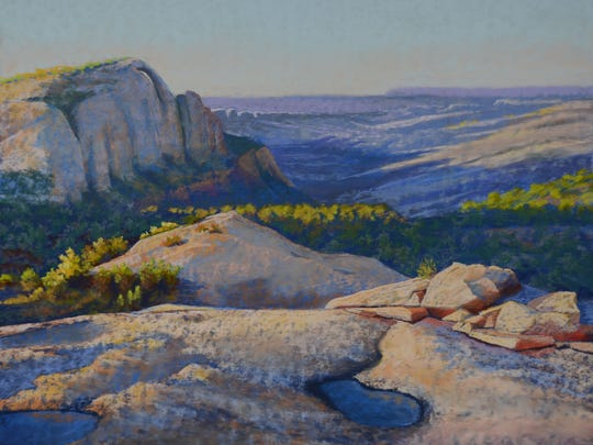 """""""North End of Comb Ridge"""" by Rebecca Koeppen"""