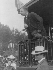 Teddy Roosevelt was at the Richmond depot several times.