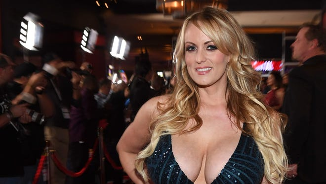 Adult film actress Stormy Daniels is appearing at a Salem strip club May 18.