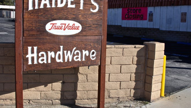 Located on Pierson Boulevard in Desert Hot Springs, Haidet's Hardware Store is closing its doors after being in business for about 70 years.