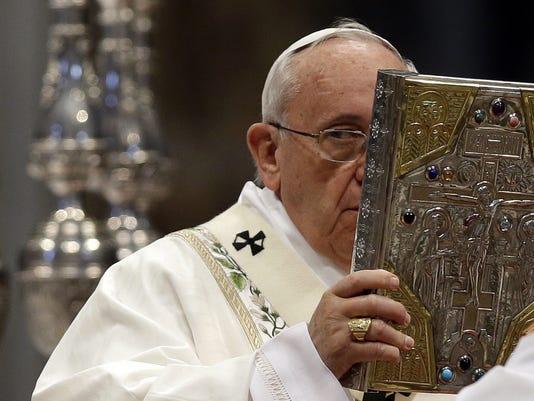 Vatican US Pope