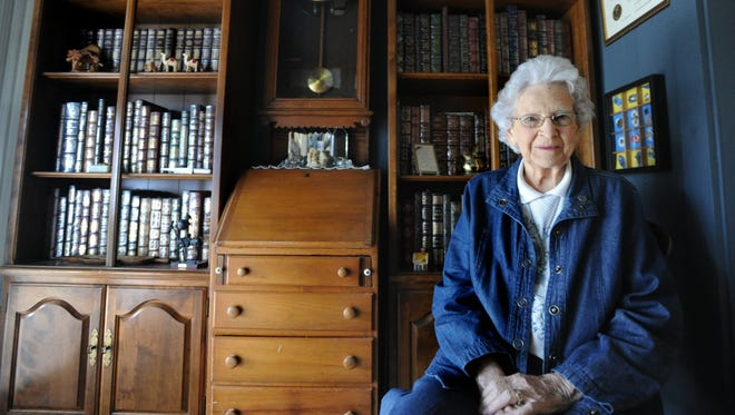 Chris Kyker, 92, has been involved with the Silver Haired Legislature for decades and was also head of the Area Agency on Aging. A reception will be held in her honor Wednesday afternoon.