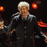 Bob Dylan at a 2012 performance in Los Angeles. The Sixth Annual Bob Dylan Birthday Jam is Friday at Enoch's. Dylan's birthday is May 24 and he will be 75.