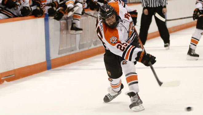 RIT winger Josh Mitchell leads the Tigers with 16 assists.