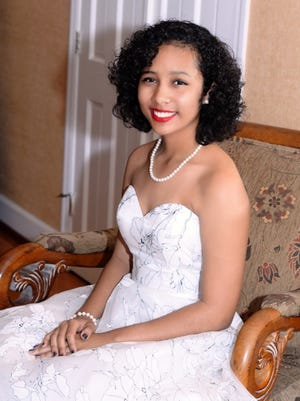 Sweet 16 birthday girl Jakiah Webb at the Pelican Yacht Club in Fort Pierce.