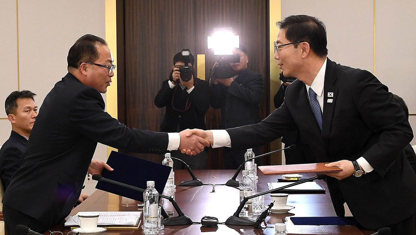North and South Korea agree to form first unified Olympic team