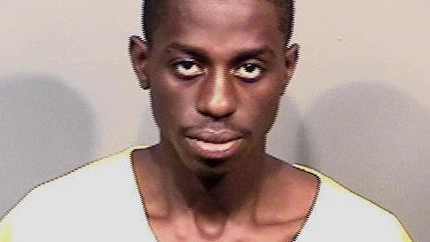 Rasheem Jones faces charges stemming from an October 9 armed robbery.