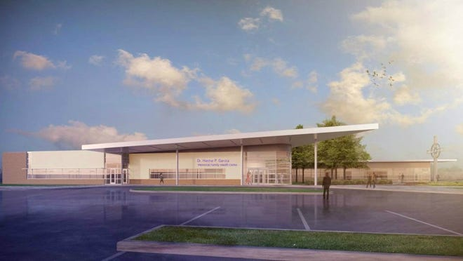 CONTRIBUTED   A rendering of the Hector P. Garcia Memorial Family Health Center.