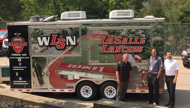 The La Salle Ticket Tour will help promote the football team starting Thursday morning.