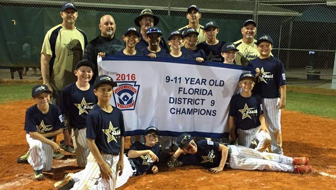 South Fort Myers 9-to-11-year-old Little League baseball team.