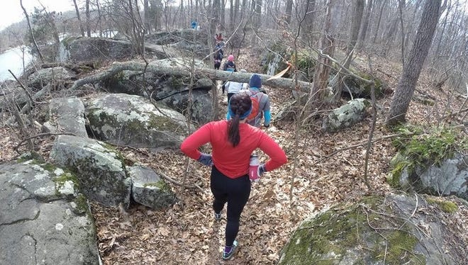 The Squirrely Tail Twail Wun race has a cute name, but there was nothing easy about last weekend's half marathon race, which was held at Gifford Pinchot State Park and drew several local runners.