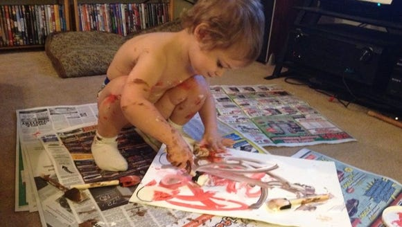 Miles painting