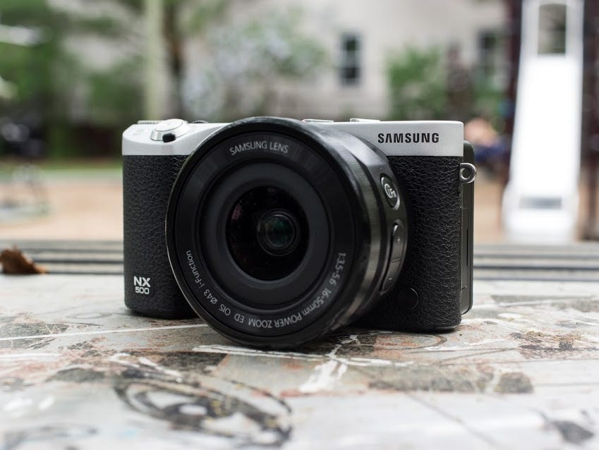 Samsung's NX500 shrinks down the successful NX1, and adds new features.