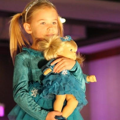 The American Girl Fashion Show, hosted by the Butterfly