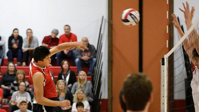 Wauwautosa East senior Aaron Plaisted was named the state player of the year by the Wisconsin Boys Volleyball Coaches Association.