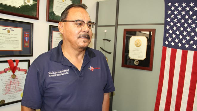 Jose Luis Hernandez, Fort Bliss retirement services officer, is organizing the annual Retiree Appreciation Day on Saturday.